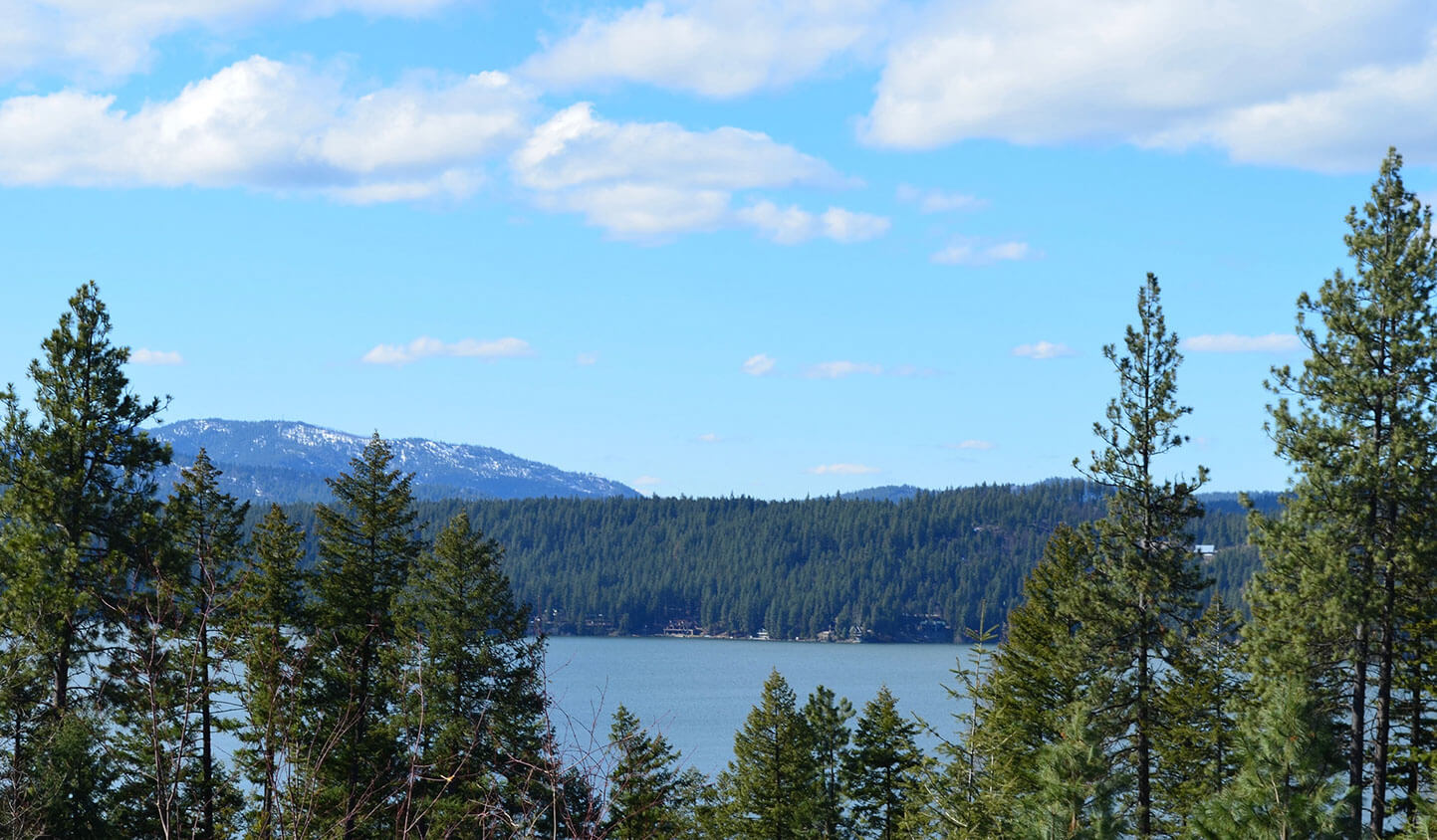 lot 3 view 2 | The Preserve at Gotham Bay | Coeur d'Alene, Idaho