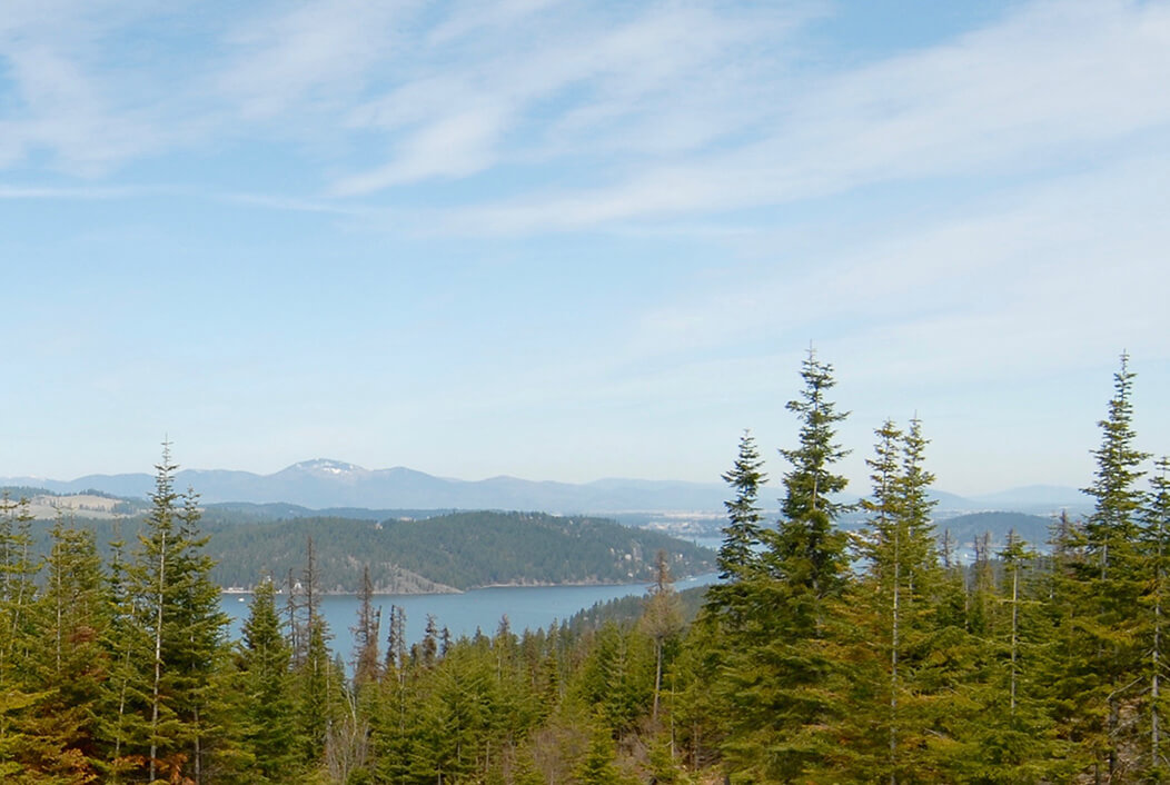 lot 41 view | The Preserve at Gotham Bay | Coeur d'Alene, Idaho