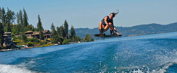 Wakeboarding | The Preserve at Gotham Bay | Coeur d'Alene, Idaho