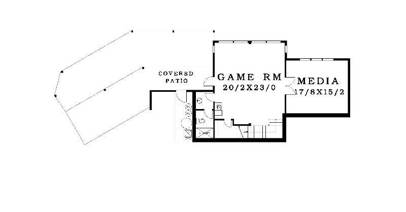 Premier upper level floor plan | The Preserve at Gotham Bay | Coeur d'Alene, Idaho